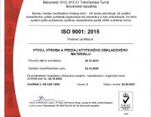 ISO certifikát 2021- 2023