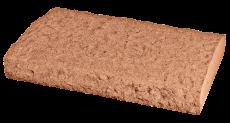 MÚRIKOVÁ čapica tehlový melír